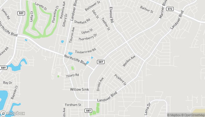 Map of 4287 Mariner Blvd in Spring Hill