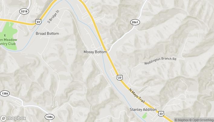 Mapa de 4565 North Mayo Trail en Pikeville