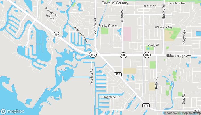 Map of 6712 Memorial Highway in Tampa