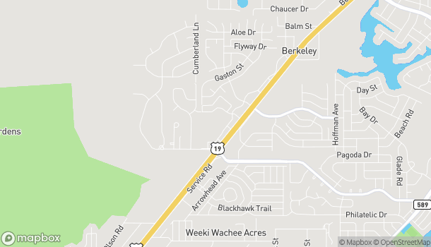 Map of 4391 Commercial Way in Spring Hill