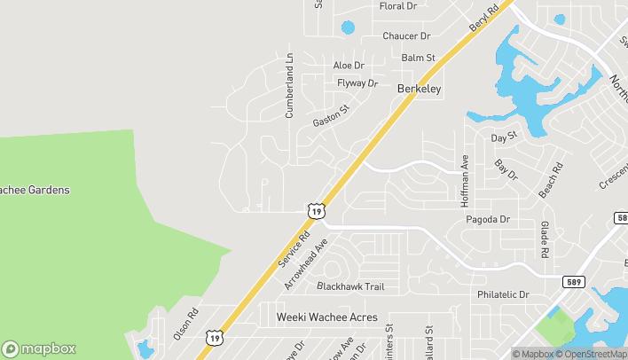 Mapa de 4391 Commercial Way en Spring Hill