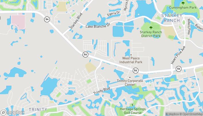 Mapa de 10829 Sr 54 en Trinity