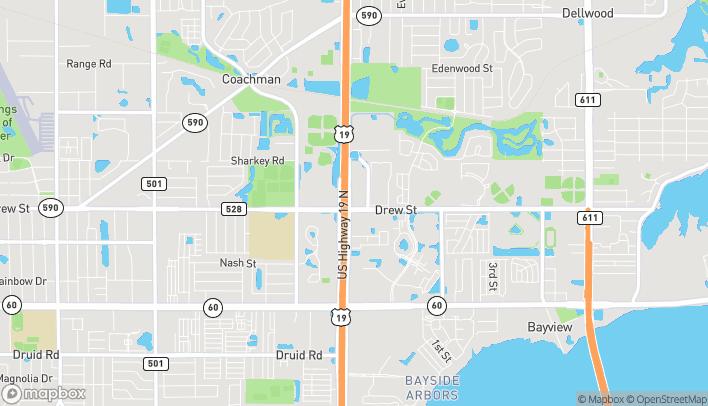 Mapa de 21561 US Hwy 19 N en Clearwater