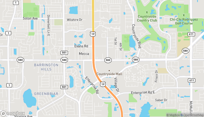 Map of 2460 State Road 580 in Clearwater