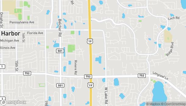 Mapa de 33125 US Hwy 19 en Palm Harbor