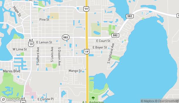 Mapa de 40743 US Hwy 19 N en Tarpon Springs
