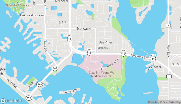 Mapa de 10195 Bay Pines Blvd en Saint Petersburg