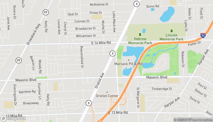 Map of 32461 Gratiot Avenue in Roseville