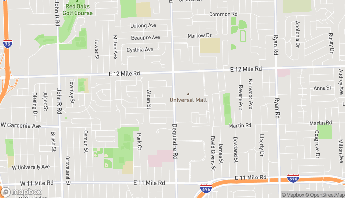 Map of 28459 Dequindre Rd in Madison Heights