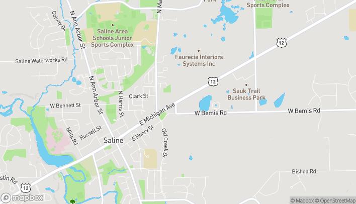 Map of 559 E. Michigan in Saline
