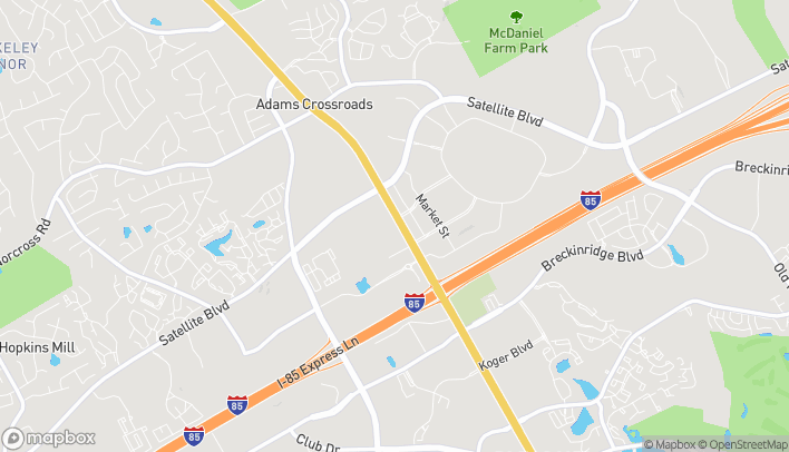 Mapa de 2131 Pleasant Hill Rd en Duluth