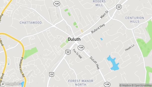 Mapa de 3455 Duluth Hwy en Duluth