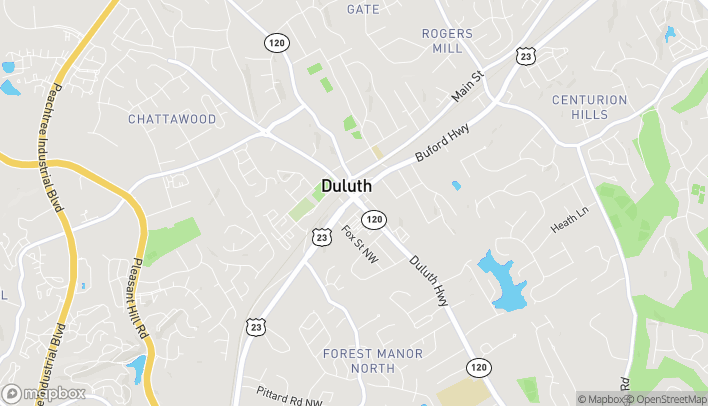 Map of 3455 Duluth Hwy in Duluth