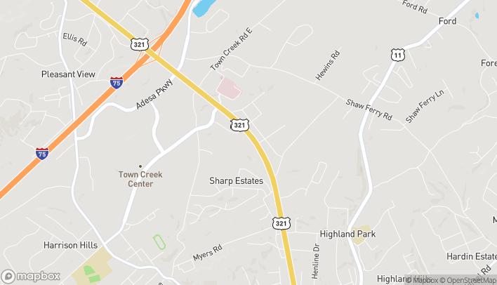Mapa de 870 Hwy 321 N en Lenoir City