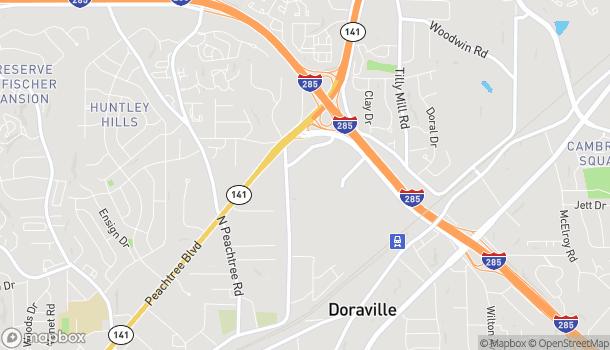 Mapa de 6035 Peachtree Road en Doraville
