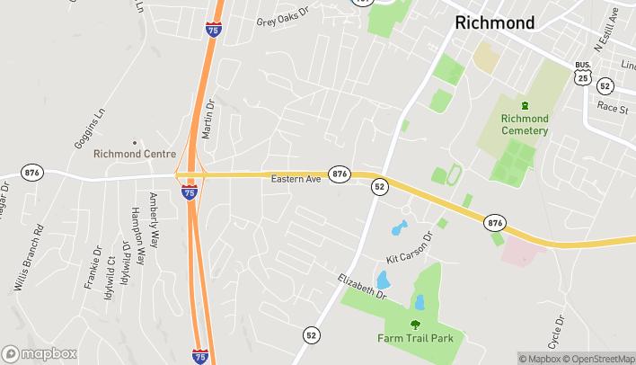 Mapa de 470 Eastern Byp en Richmond