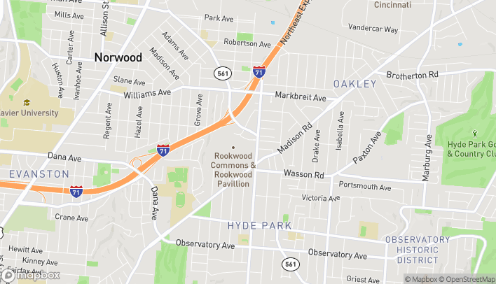 Mapa de 2692 Madison Rd en Cincinnati