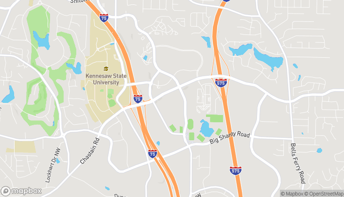 Map of 745 Chastain Road NW in Kennesaw