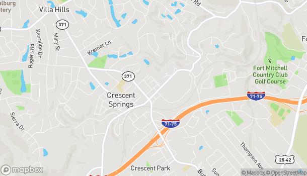 Map of 2426 Sarah Ln in Crescent Springs