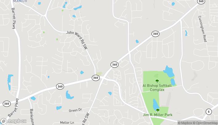 Mapa de 1690 Powder Springs Rd SW en Marietta