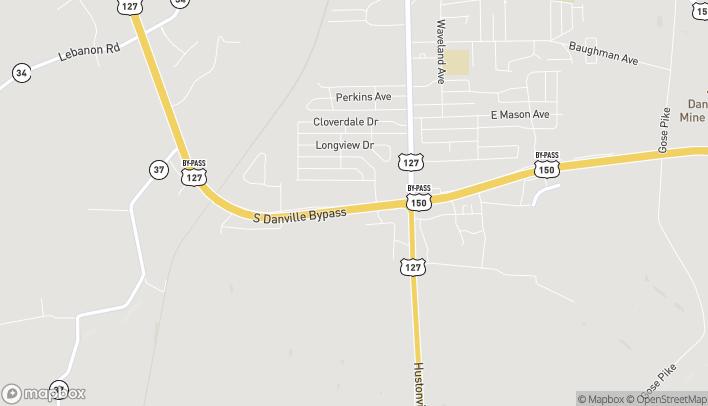 Mapa de 116 Skywatch Dr en Danville