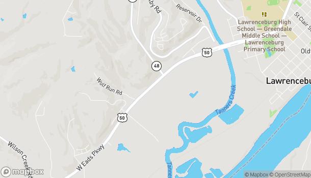 Mapa de 866 Eads Parkway en Lawrenceburg