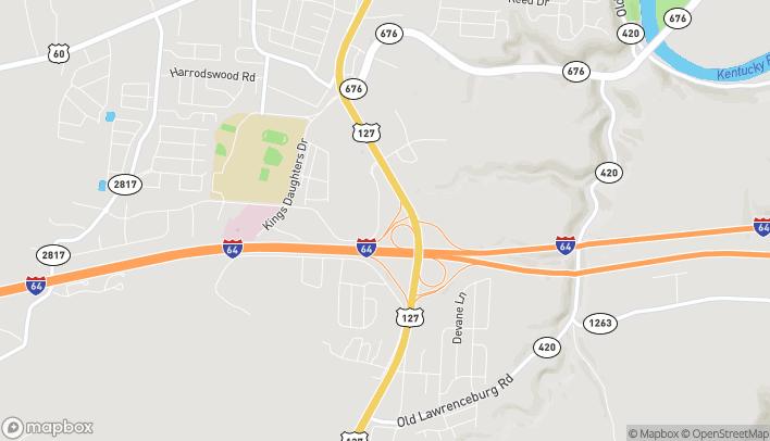 Mapa de 305 Leonardwood Dr en Frankfort