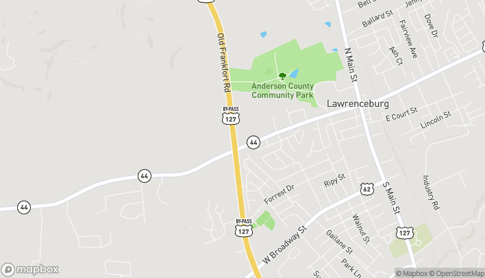 Map of 1004 Bypass N in Lawrenceburg