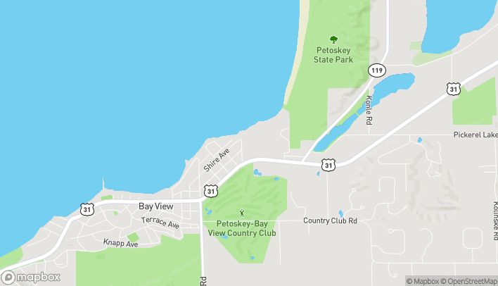 Map of 1151 US 31 N in Petoskey