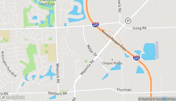 Map of 5409 Meijer Drive in Fort Wayne
