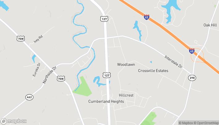 Mapa de 32 The Crossings en Crossville