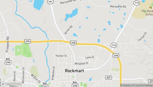 Mapa de 1651 Nathan Dean Bypass en Rockmart