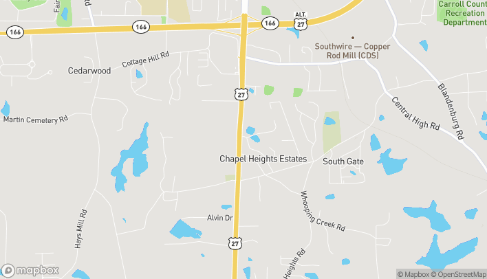 Map of 1610 US Hwy 27 South in Carrollton