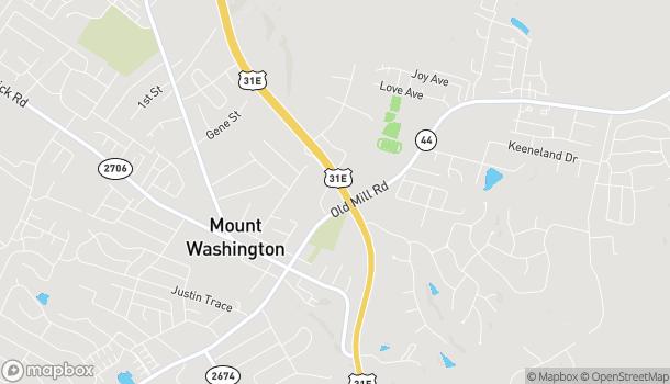 Map of 185 Oakbrooke Drive in Mount Washington