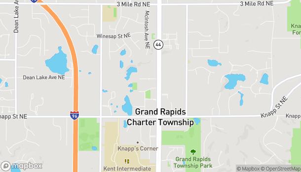 Map of 2211 E Beltline Ave NE in Grand Rapids