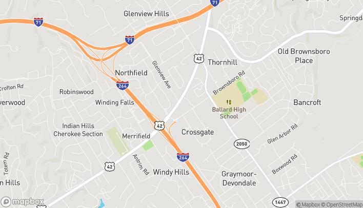 Map of 4936 US Hwy 42 in Louisville