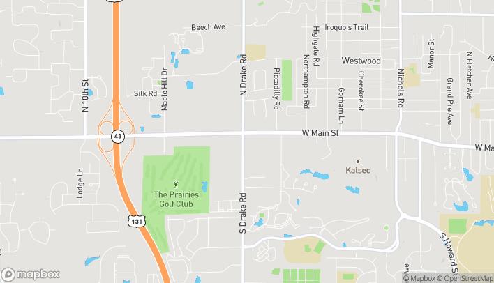 Map of 342 N. Drake Rd in Kalamazoo