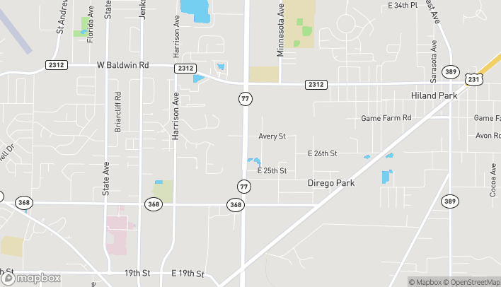 Map of 2694 Highway 77 in Panama City