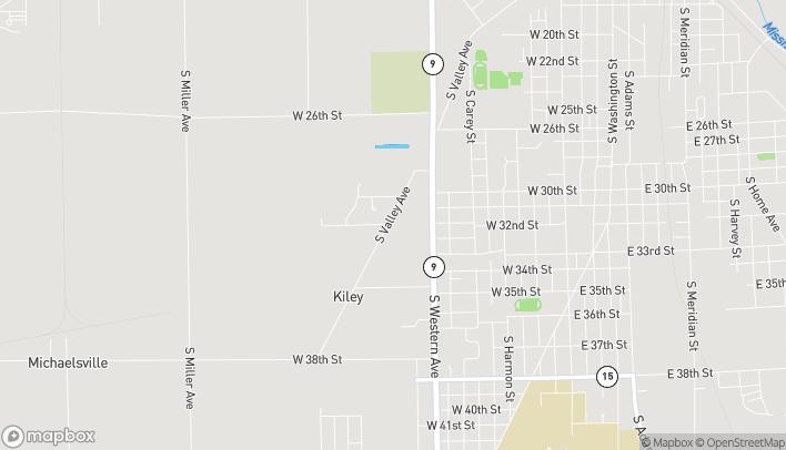Mapa de 3214 South Western Avenue en Marion