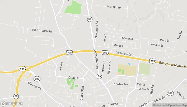 Map of 241 Northgate Drive in McMinnville