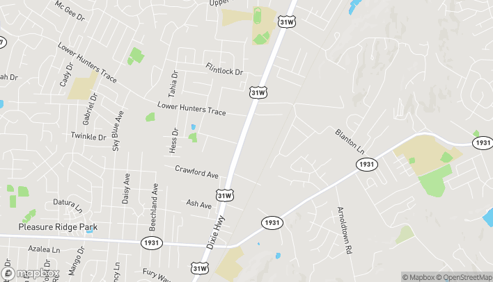 Map of 6661 Dixie Hwy in Louisville