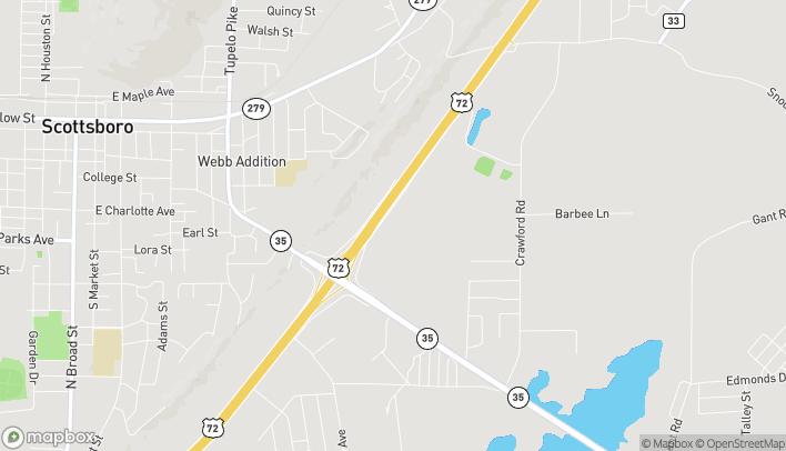 Mapa de 24663 John T. Reid Parkway en Scottsboro