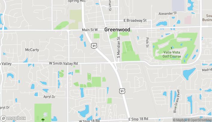 Mapa de 670 US Highway 31 South en Greenwood