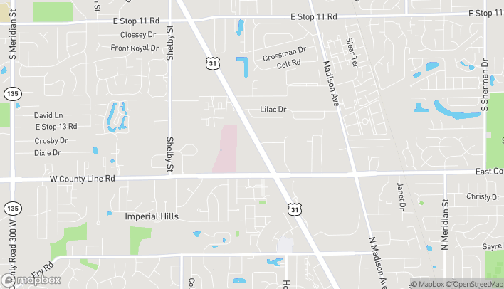 Map of 8812 US 31 South in Indianapolis