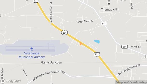 Map of 41164 US Hwy 280 in Sylacauga