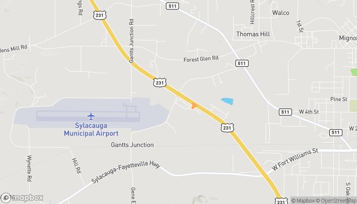 Mapa de 41164 US Hwy 280 en Sylacauga