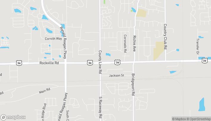 Mapa de 9210 Rockville Rd en Indianapolis