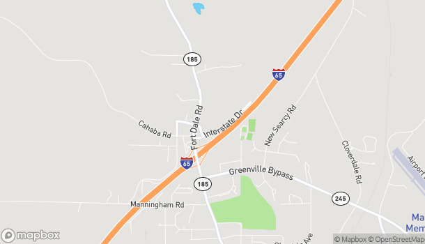Map of 131 Interstate Drive in Greenville