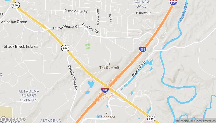 Map of 238 Summit Blvd in Birmingham