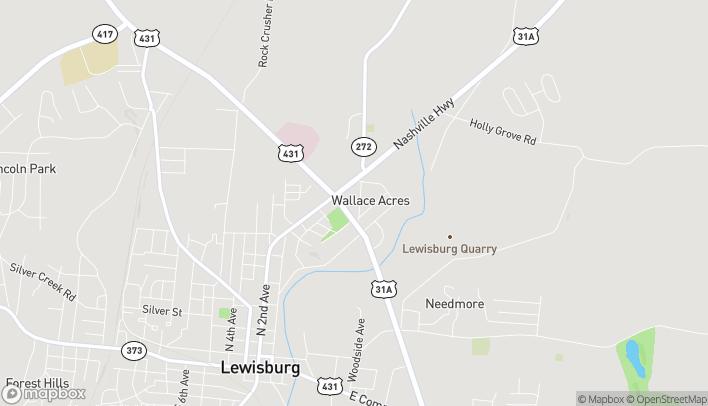 Mapa de 712 N Ellington Pkwy en Lewisburg